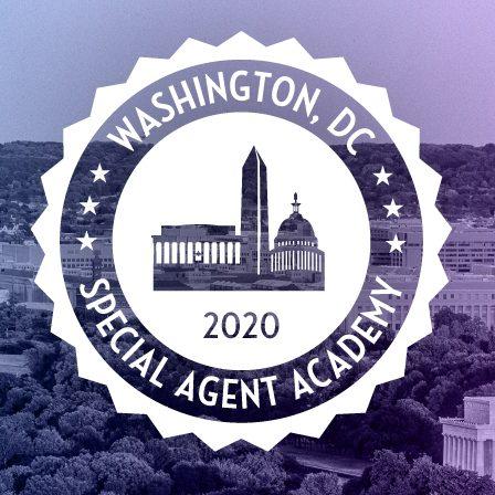 April 28th 2020 – Destination DC – Join the Washington, DC Special Agent Academy!