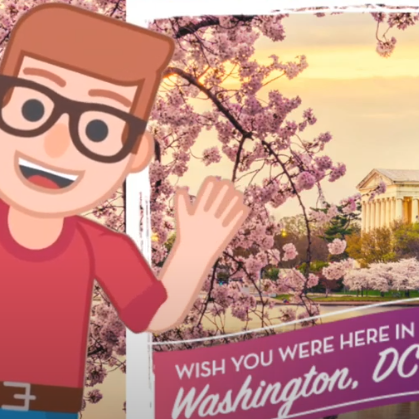 November 10th 2020 – Destination DC. Learning on Location with Washington, DC!  New educational adventure.